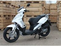 * Brand New 2017 * Motorini XO Learner 125 Scooter. Warranty, Free Delivery, Part-ex: 09-03