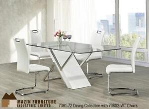 GLASS DINING ROOM TABLE - STYLE YOUR PERFECT DINING ROOM WITH OUR SELECTION DINING TABLES (BD-1210)