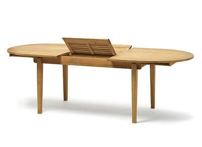 Tavolo da giardino in teak allungabile