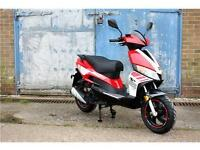 MOTORINI GP125 LEARNR LEGAL 125CC 125 SPORT RACE SCOOTER BLUE RED AVAILABLE
