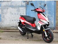* Brand New 2017 * Motorini GP125 Learner Scooter. 2 yrWarranty. Free Local Delivery. Main Dealer