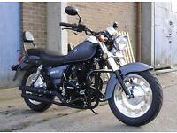 *Brand New* 66 Plate Motorini Bomber 125. Warranty & Free Delivery. Main dealer 22-9