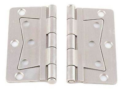 Mobile Home Parts 2 NEW Butterfly Door Hinges Nickel -