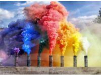 Smoke flares/grenades for sale!!! Smoke, wedding entrance!! Wedding supplies!! Wedding ideas!!