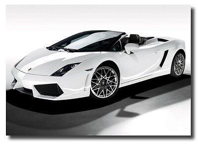 Lamborghini Gallardo New Car Sign Ads Photo Poster on Rummage