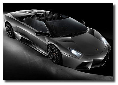 Lamborghini Reventon Roadster New Sign Ads Photo Poster on Rummage