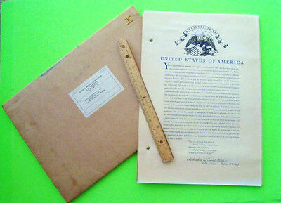 rare 1931 GENERAL MOTORS RADIO BROADCASTS, TRIBUTE TO USA & STATES All 51 Sheets