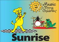 Sunrise Program- Music for Young Children