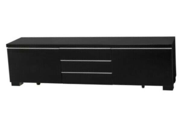 Excellent Ikea Besta Burs Tv Unit Black Gloss In Southside Glasgow Gumtree Andrewgaddart Wooden Chair Designs For Living Room Andrewgaddartcom