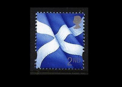 S94 2nd Scots Flag PVAD DE LA RUE SCOTLAND Regional UM