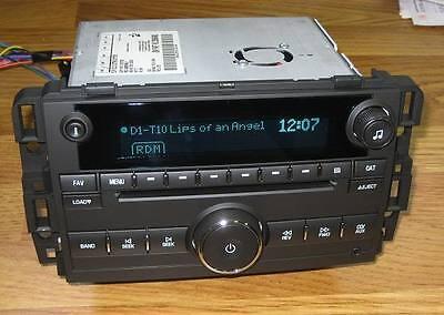 NEW UNLOCKED 2007-2013 CHEVY SILVERADO TAHOE TRUCK W/T 6 CD Radio 3.5 MP3 INPUT