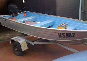 3m Savage Tinny with Mercury 7.5HP Outboard Altona North Hobsons Bay Area Preview