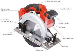 NEW Keyang Korea 165mm 18V Circular Saw set 70% OFF RRP $650 Chatswood Willoughby Area Preview