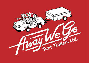 Book your tent trailer rental today!