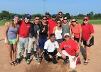 WANTED: CO-ED SOFTBALL PLAYERS BLUE JAY RAPTOR MAPLE LEAF TICKET