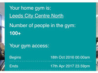Pure Gym Membership 5 months Leeds