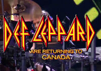 Def Leppard, Styx and Tesla - July 14th - 2 tickets
