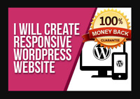 I Will Build Wordpress Website With Mobile Friendly.