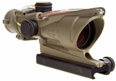 New, Trijicon ACOG 4x32 Scope with TA51 Mount, CK-FDE, Tritium Only, : 100319