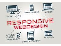 From £30 -Fast Wed design and digital marketing Help
