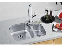 Kitchen Sink Stainless Steel Left Hand Main Bowl - BLANCO SUPREME 533-U, BL450767