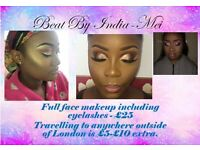 MOBILE MAKE UP ARTIST WITH NO TRAVEL FEE JUST £25!!!!!