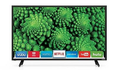 "Vizio D32F-E1 32"" D-Series 1080p Full Array LED LCD WiFi Enabled Smart TV"