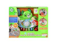 LeapFrog Scout's Get Up and Go Activity Centre, Brand New, Boxed