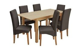 53651f4212 EX DISPLAY Argos Home Atom Round Glass 4 Seater Dining Table | in ...
