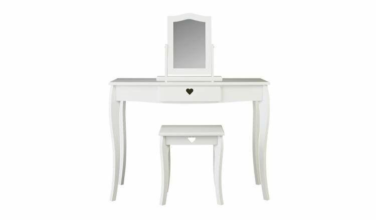 d77bea757a9 Argos Home Mia White Dressing Table