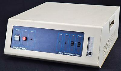 Bioscan System 200 Lab Benchtop Automated Radioisotope Imaging Scanner