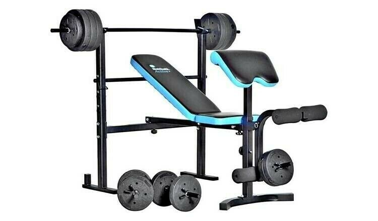 Multi Gym Folding Bench & Preacher Weight Bench Gym and Weights | in Melton  Mowbray, Leicestershire | Gumtree