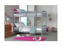 💚💚STRONG & STURDY💚💚SINGLE-WOODEN BUNK BED FRAME w OPT MATTRESS- GRAB THE BEST