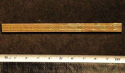 Art Nouveau Ornament Bookbinding Brass Type Letterpress Bookbinder Frame Lines