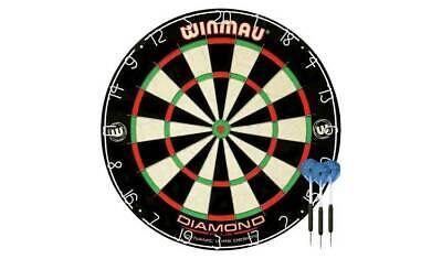 Winmau Diamond Plus Bristle Dartboard and Darts Set Best Gift For Any