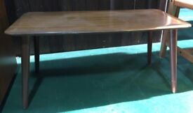 Formwood coffee table 1960s wipeclean