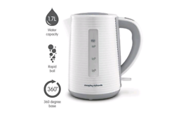 Morphy Richards 108399 Arc Jug Kettle + Cups and Glasses