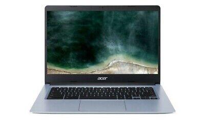 Acer Chromebook 314 - 14 Inch Intel Celeron 4GB RAM 32GB eMMC Laptop - Silver A-