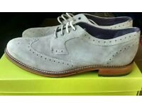 Men's Ted Baker Cassuede brogues RRP £140 uk 8, 10 or 11