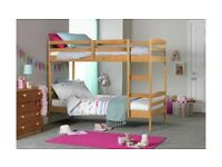 🎆💖🎆STOCK CLEARANCE🎆💖🎆 SINGLE-WOODEN BUNK BED FRAME w OPT MATTRESS