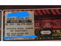 Reading festival weekend camping ticket - £240