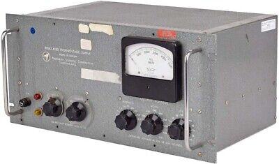 Northeast Scientific Re-5001ew 0.5-5kvdc 0-10ma Regulated Hv Power Supply