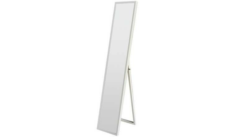 Modern White Full Length Cheval Dressing Mirror Large Wooden Framed Wall In Isle Of Dogs London Gumtree
