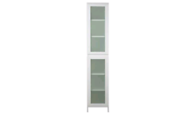 Tall boy storage cabinet. Assembled ex display. RBW Clearance Outlet