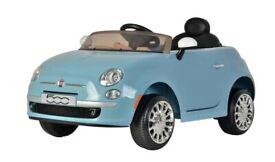 Fiat 500 6V Replica Smooth Blue Powered Ride On Car