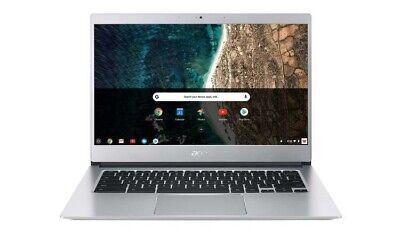 Acer CB514 14in Intel 1.1 GHz 32GB eMMC 4GB RAM Chromebook Silver Original Box A