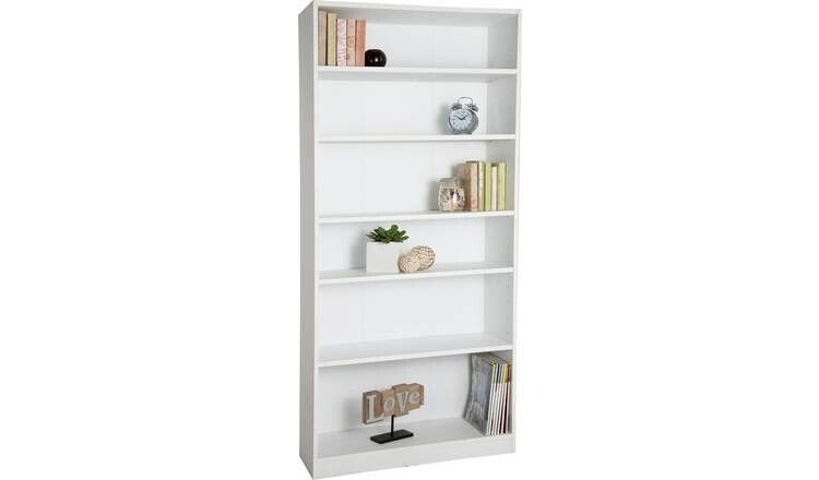 Home Maine 5 Shelf Tall & Wide Deep Bookcase - White 609/2139 | in  Sparkhill, West Midlands | Gumtree
