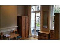 Self Contained Double Studio with Balcony in W14