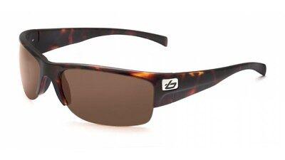 Bolle Zander 11374 Dark Tortoise Polarized Oleophobic Anti Fog Sunglasses NEW