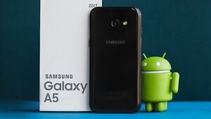 BRAND NEW IN BOX SAMSUNG A5 (2017) UNOPENED UNLOCKED SEALED ..!!